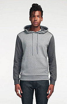 Contrast French Terry Hoodie