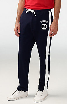 Logo Patch Pant