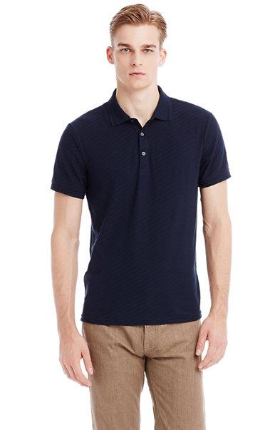 Short Sleeve Twill Polo