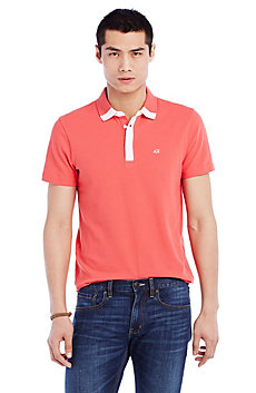 Contrast Trim Polo