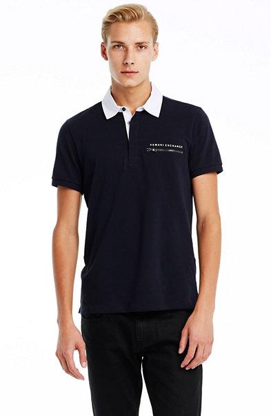 Short Sleeve Zip Pocket Polo