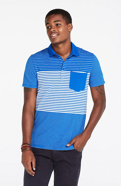 Mixed Striped Polo