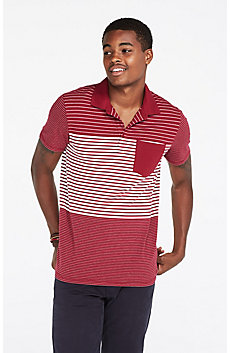 Mixed Striped Polo