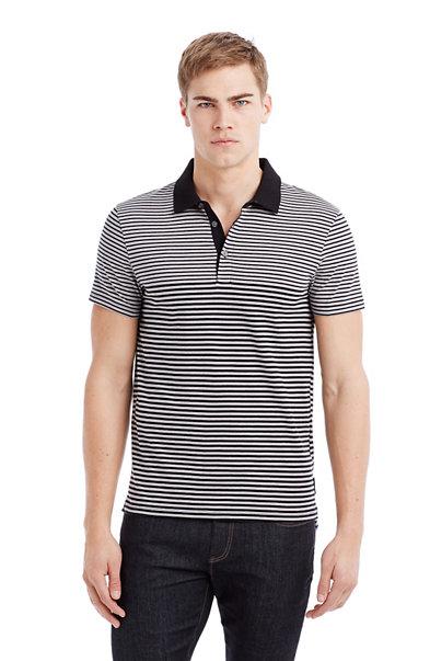 Mixed Stripe Polo
