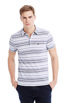 Water Stripe Polo