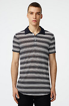 Multi-Stripe Polo