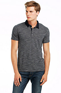 Short Sleeve Mixed Stripe Polo