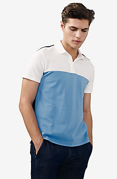 Clean Colorblock Polo