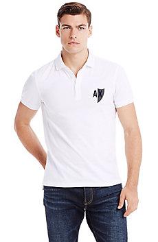 Short Sleeve Crest Polo