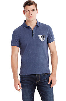 Short Sleeve Crest Polo