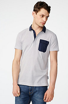 Graphic Block Polo