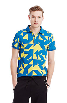 Patchwork Geo Polo