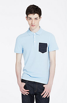 Jacquard Pocket Polo