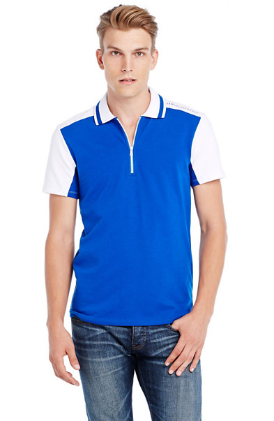 Short Sleeve Active Pique Polo