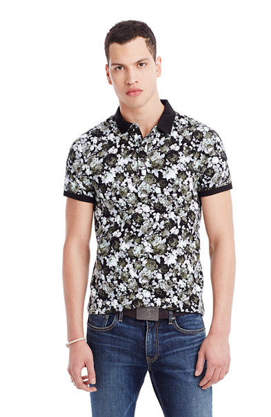 Vintage Floral Polo