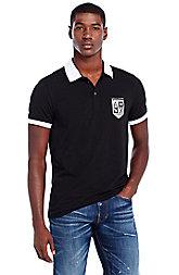 Short Sleeve Logo Pride Polo