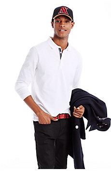 Long Sleeve Basic Pique Polo