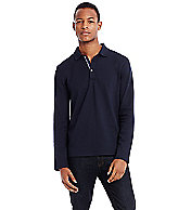 Long Sleeve Basic Pique Polo