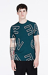 Allover Letters Tee