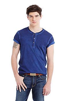 Garment Dye Henley