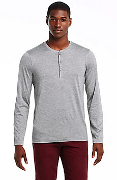 Silk & Cotton Henley