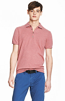 Cotton Cashmere Polo