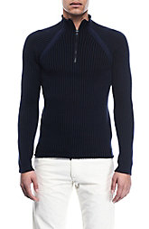 1/2 Zip Mockneck Sweater