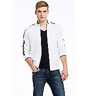 Cotton Logo Track Jacket