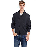 Asymmetrical Merino Cardigan Sweater