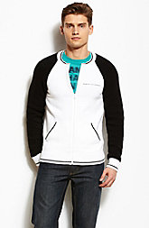 A|X Sporty Zip Front Sweater