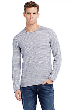 Lightweight Cotton Crew Sweater