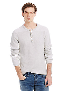 Plaited Rib Henley