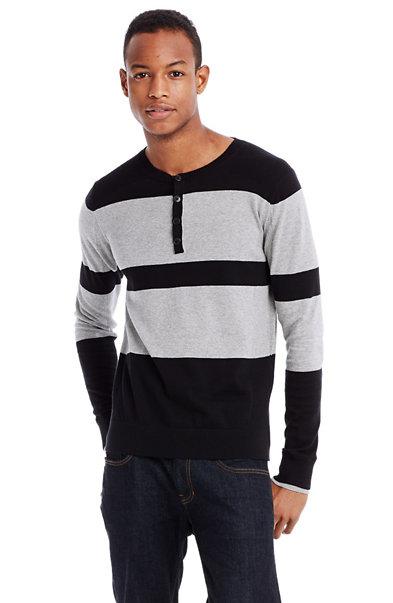 Bold Stripe Henley