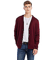 Lightweight Cotton Cardigan Sweater