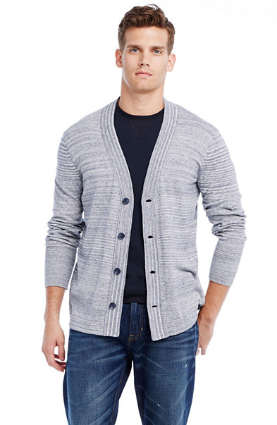 Lightweight Cotton Cardigan Sweater