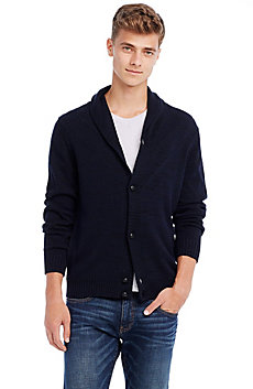 City Shawl Cardigan Sweater