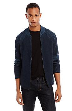 Plaited Rib Sweater Jacket