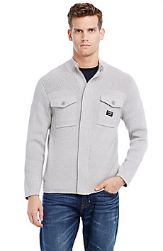 Cotton Utility Sweater