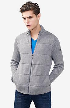Textured Stitch Packable Hood Jacket