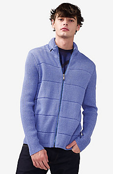 Textured Stitch Packable Hood Jacket