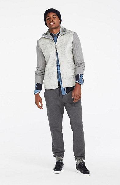 Faux-Shearling Jacket