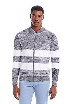 Striped Space Dye Jacket