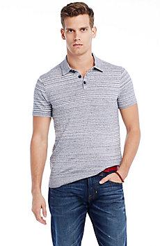 Lightweight Cotton Polo Sweater
