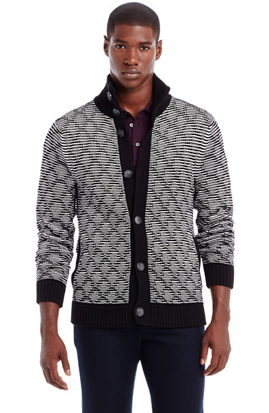 Graphic Stitch Jacket