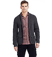 Shaker-stitch Cotton Cardigan