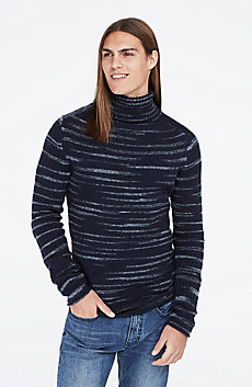 Space Dye Turtleneck