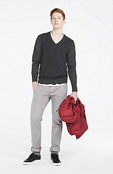 Waffled Merino Wool Sweater