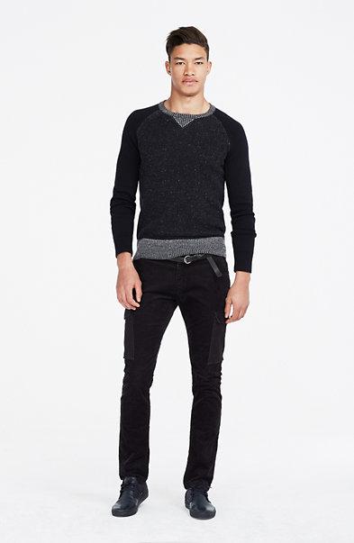 Wool Raglan Sweater