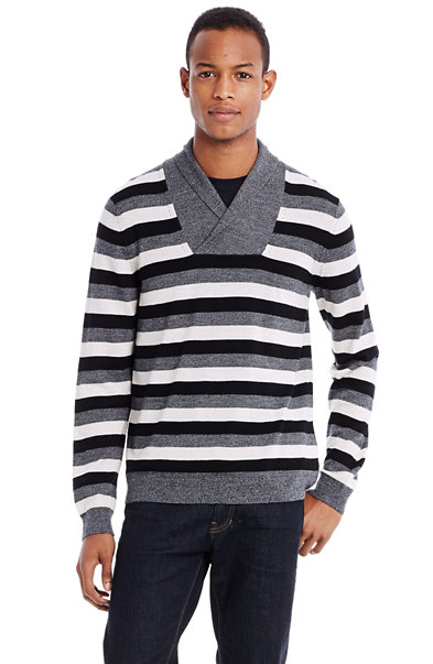 Merino Shawl Collar Sweater