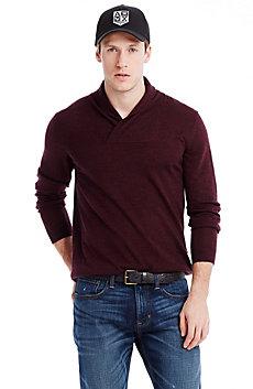 Merino Shawl Collar Sweater